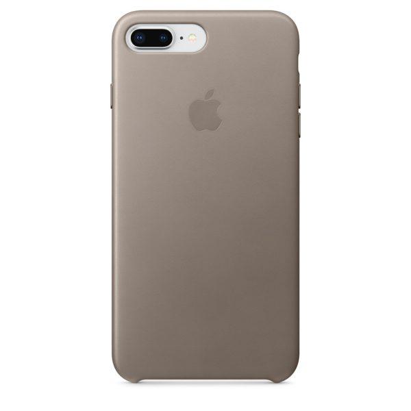 iPhone 8 Plus / 7 Plus Leather Case - Taupe