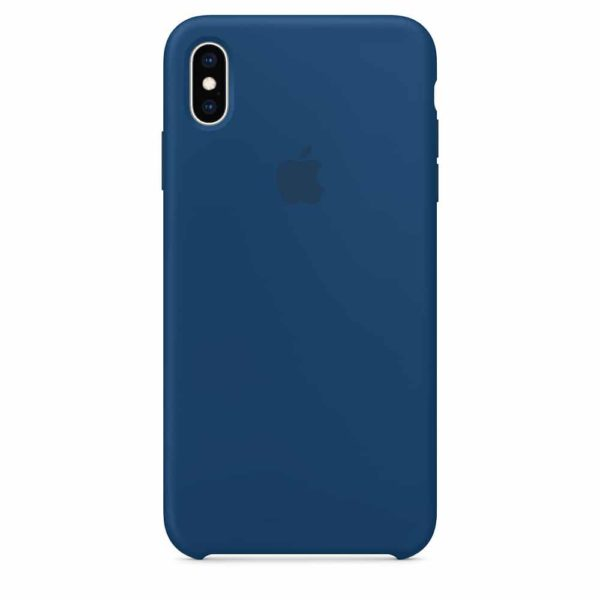 iPhone XS Max Silicone Case - Blue Horizon