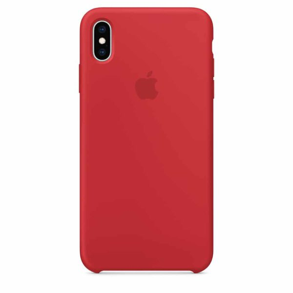 iPhone XS Max Silicone Case 7 - Red