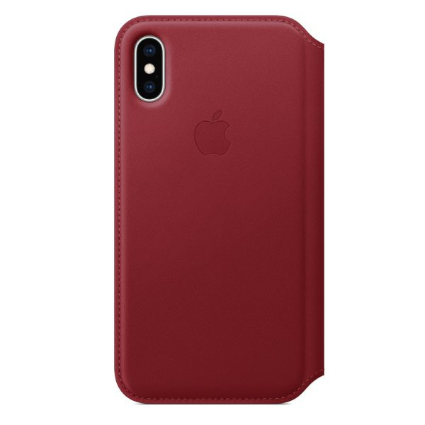 iPhone XS Leather Folio