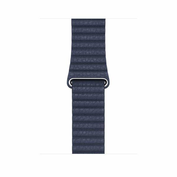 leather loop diver blue