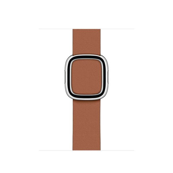 Modern Buckle Band - Saddle Brown