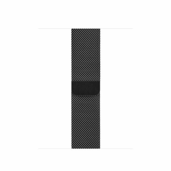 Apple Watch Series 5 Space Black Stainless Steel Case with Space Black Milanese Loop