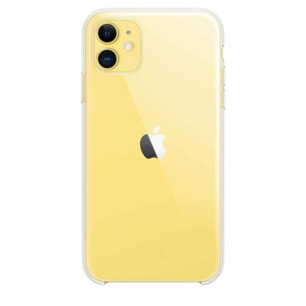 iPhone 11 clear case - yellow