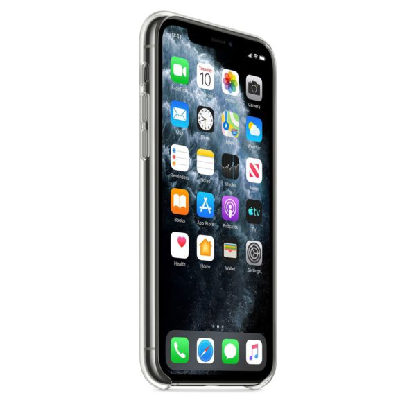 iPhone 11 Pro clear case - front