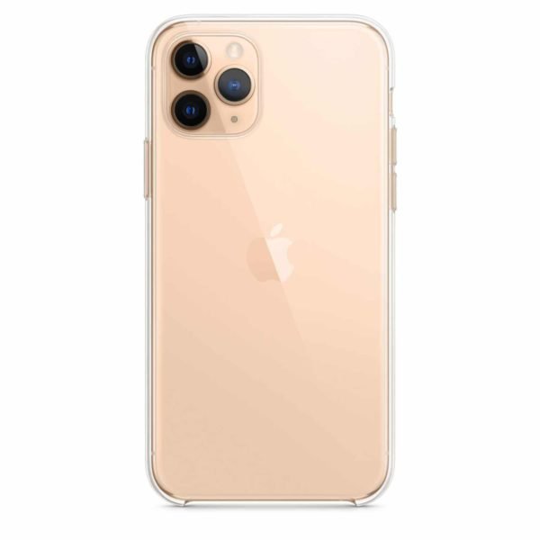 iPhone 11 Pro clear case - gold