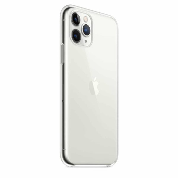 iPhone 11 Pro clear case - silver2