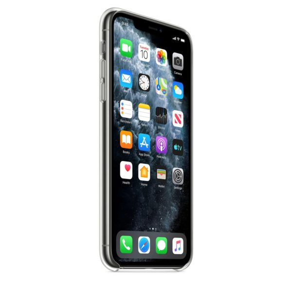 iPhone 11 Pro Max clear case - front