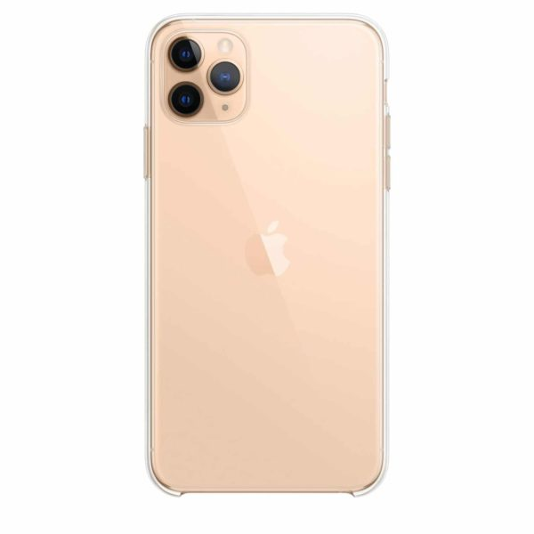 iPhone 11 Pro Max clear case - gold