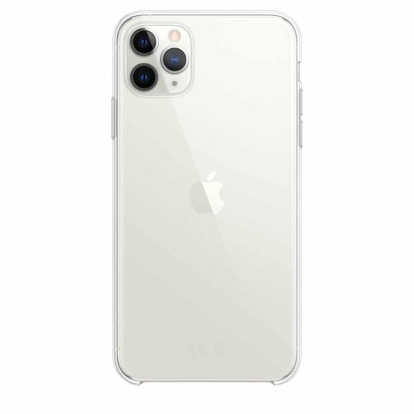 iPhone 11 Pro Max clear case - silver