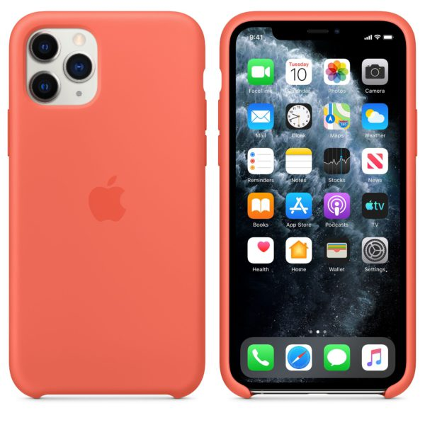 iPhone 11 Pro Silicone Case - Clementine