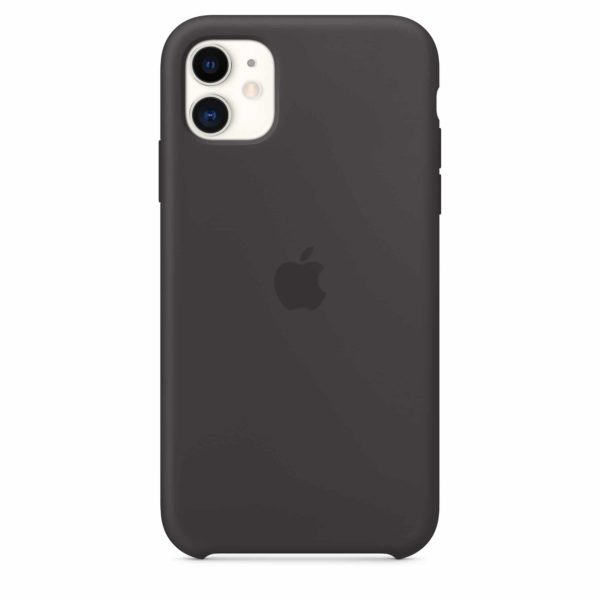 iPhone 11 Silicone Case - Black - back