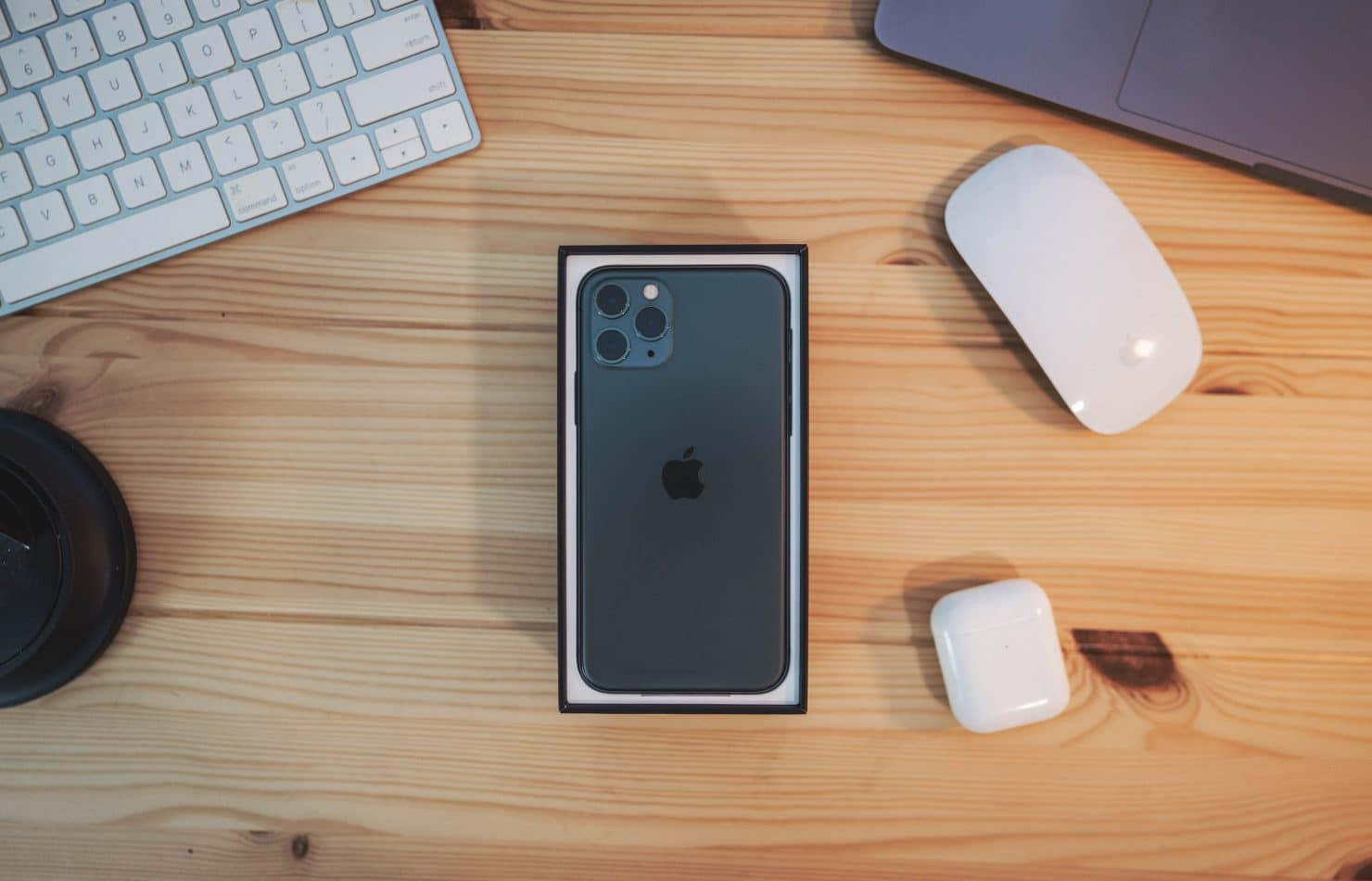 iPhone 11 Pro with iOS 13 features