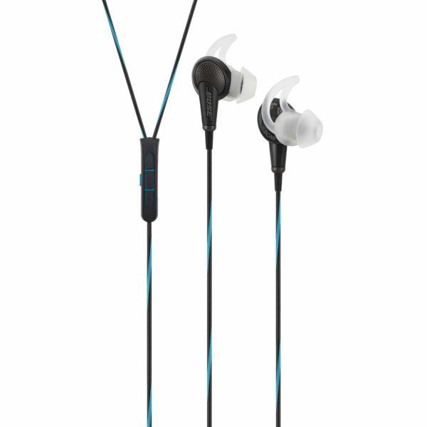 Bose QuietComfort 20 Acoustic Noise Cancelling In-Ear Headphones MFI - Black