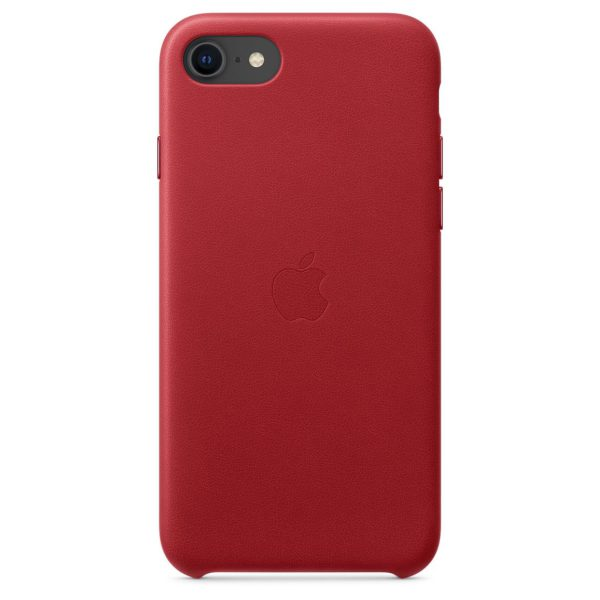 iPhone SE Leather Case - Product Red