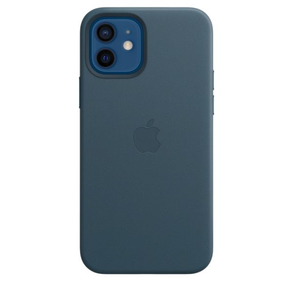 iPhone 12 | 12 Pro Leather Case with MagSafe - Baltic Blue