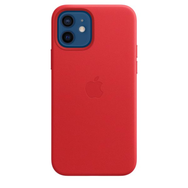 iPhone 12 | 12 Pro Leather Case with MagSafe - (PRODUCT)RED