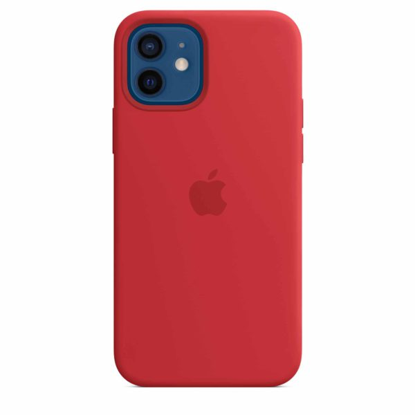 iPhone 12 | 12 Pro Silicone Case with MagSafe - PRODUCT Red