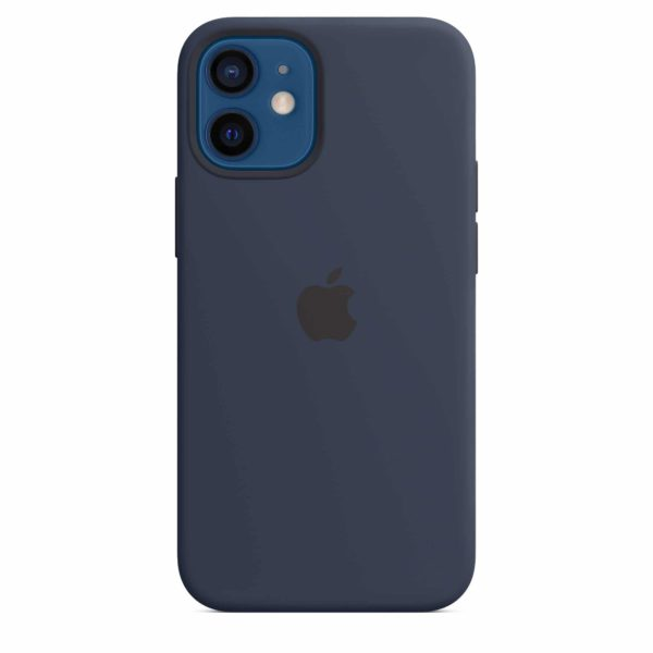 iPhone 12 mini Silicone Case with MagSafe - Deep Navy