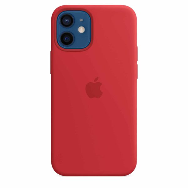 iPhone 12 mini Silicone Case with MagSafe - (PRODUCT)RED
