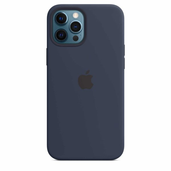 iPhone 12 Pro Max Silicone Case with MagSafe - Deep Navy
