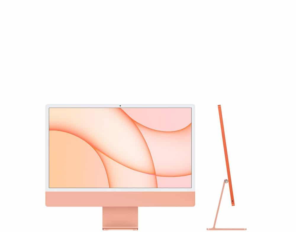 imac 24 - orange