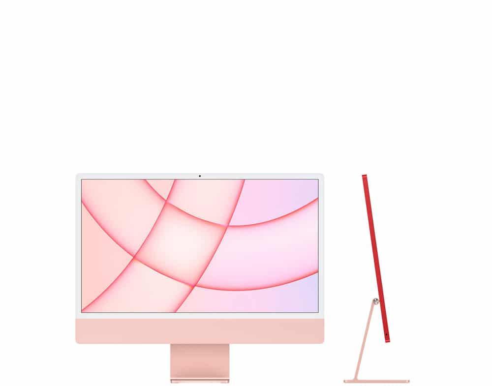 imac 24 - pink