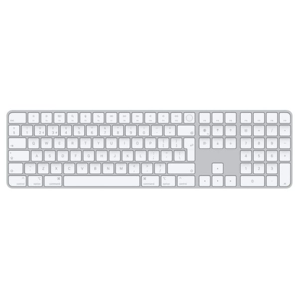 Magic Keyboard with Touch ID and Numeric Keypad for Mac computers with Apple silicon