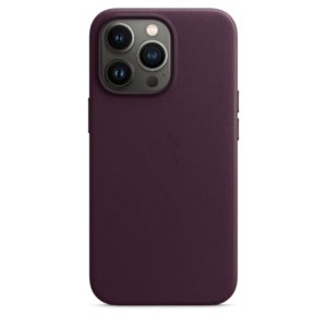 iPhone 13 Pro Leather Case with MagSafe - Dark Cherry