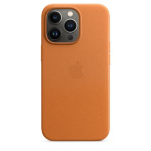iPhone 13 Pro Leather Case with MagSafe - Golden Brown