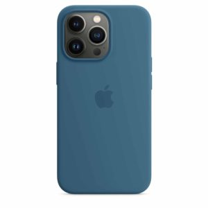 iPhone 13 Pro Silicone Case with MagSafe – Blue Jay